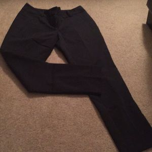 The Limited size 0 black ankle pants